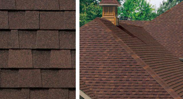 redwood roof shingle colors