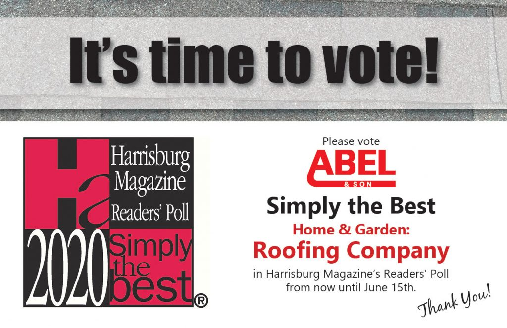It's time to vote for Abel & Son for 2020 Simply the Best!